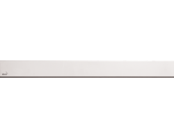 Дизайн решетка AlcaPlast Solid-550 55 см. (нержавеющая сталь)