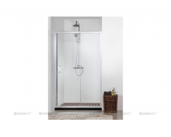 Дверь для душа Акванет/Aquanet Alfa NAA6121 100 100х200 199226 (прозрачное стекло)