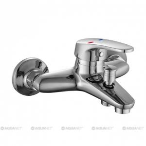 Смеситель для ванны Акванет/Aquanet Aura SD20081 189204 (хром глянец)