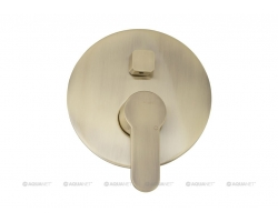 Смеситель для ванны Акванет/Aquanet Classic ARF5042-K(B) 202258 (бронза, внешняя часть+скрытая часть, скрытого монтажа)