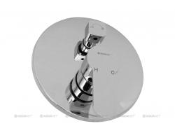 Смеситель для ванны Акванет/Aquanet Classic ARF5042-K 202259 (хром глянец, внешняя часть+скрытая часть, скрытого монтажа)