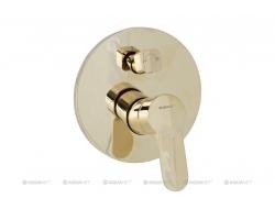 Смеситель для ванны Акванет/Aquanet Classic ARF5042-K(T) 202257 (золото, внешняя часть+скрытая часть, скрытого монтажа)