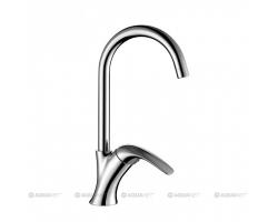 Смеситель для кухни Акванет/Aquanet Cobra SD90365 187205 (хром глянец)