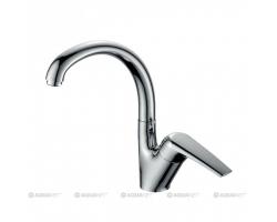Смеситель для кухни Акванет/Aquanet Conte SD91385 187218 (хром глянец)