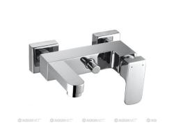 Смеситель для ванны Акванет/Aquanet Cubic SD90441 187227 (хром глянец)