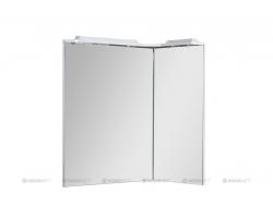 Зеркало Акванет/Aquanet Корнер 88 R 88 см. 158821 (белое, правое)