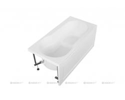 Ванна акриловая Акванет/Aquanet Largo 120х70 00203990