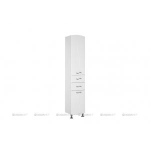 Пенал Акванет/Aquanet Моника 40 R 40 см. 186778 (белый, напольный, правый)
