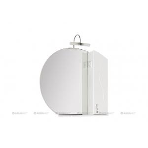 Зеркало-шкаф Акванет/Aquanet Моника 85 85 см. 186775 (белое)