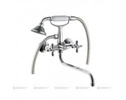 Смеситель для ванны Акванет/Aquanet Opera SD98909A 187236 (хром глянец)