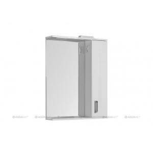 Зеркало-шкаф Акванет/Aquanet Рондо 70 70 см. 189162 (белое)