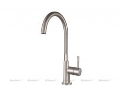 Смеситель для кухни Акванет/Aquanet Steel AF210-41 S225488 (нержавеющая сталь)
