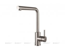 Смеситель для кухни Акванет/Aquanet Steel AF211-41S 228450 (нержавеющая сталь)
