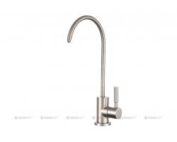 Смеситель для кухни Акванет/Aquanet Steel AF210-91S 225487 (нержавеющая сталь)