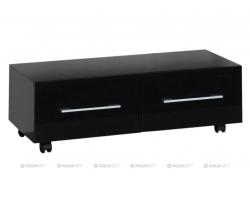 Тумба Акванет/Aquanet Верона 100 100 см. 175402 (чёрная, напольная, два ящика)