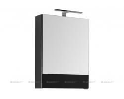 Зеркало-шкаф Акванет/Aquanet Верона 50 50 см. 207764 (черное, камерино)