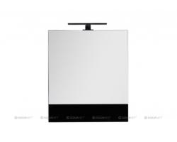 Зеркало-шкаф Акванет/Aquanet Верона 58 58 см. 175384 (чёрное, камерино)
