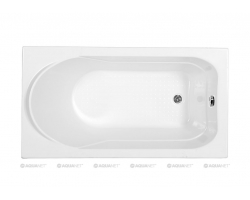 Ванна акриловая Акванет/Aquanet West 120x70 00204050