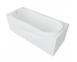 Ванна акриловая Акватек/Aquatek Афродита 150 150х70 см.