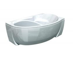 Ванна акриловая Акватек/Aquatek Бетта 160 160х97 см. (правая)