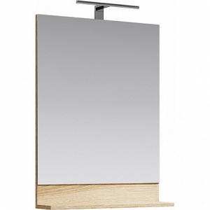 Зеркало Aqwella Фостер 60 60 см. FOS0206DS (дуб сонома)