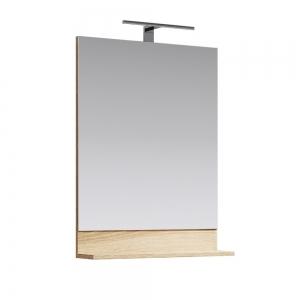 Зеркало Aqwella Фостер 70 70 см. FOS0207DS (дуб сонома)