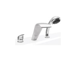 Смеситель для ванны на 3 отверстия Asd Garda SAPC-03-5A (хром глянец, врезной на борт ванны)