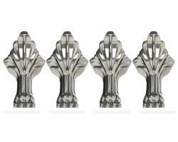 Ножки для ванны Астра-Форм Роксбург (хром)