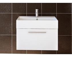 Тумба Астра-Форм Соло 70 700х450 (белый глянец, 1 ящик и внутренняя полочка)