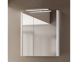 Зеркало-шкаф Астра-Форм Соло 60 60 см. (белый глянец)