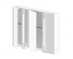 Зеркало-шкаф Астра-Форм Венеция 100 994х700 (белый глянец)