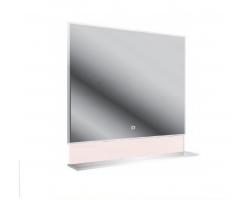 Зеркало универсальное с полочкой Астра-Форм 70 700х813 (белый глянец)