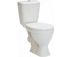 Унитаз напольный Sanita Эталон Эконом ETLSACC01090113 (косой, полипропилен сиденье)