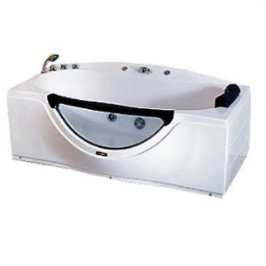 Ванна акриловая гидромассажная Loranto CS-832 L 168x90 (левая)