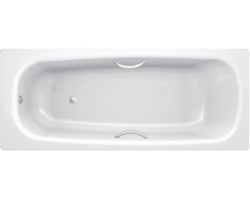 Стальная ванна BLB Universal HG B70HTH001 170х70 (с отверстием под ручки)