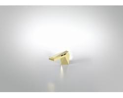 Смеситель для раковины Bravat Diamond F118102G-ENG (Golden)
