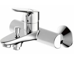 Смеситель для ванны Bravat Drop F64898C-01A (хром глянец)