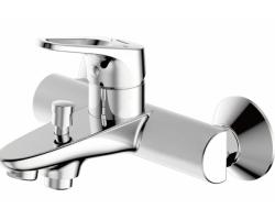 Смеситель для ванны Bravat Drop-D F648162C-01 (хром глянец)