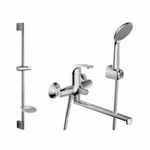 Комплект смесителей для ванной комнаты Bravat Fit F00416C