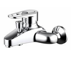 Смеситель для ванны Bravat Loop F6124182CP-01-RUS (хром глянец)