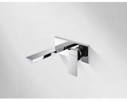 Смеситель для ванны Bravat Phillis P69183C-ENG (хром глянец, скрытого монтажа, внешняя часть)