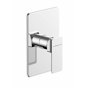 Смеситель встраиваемый для ванны Bravat Phillis PB856101CP-ENG (внешняя часть) (1-режим)
