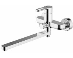Смеситель для ванны Bravat Stream-D F637163C-LB (хром глянец, с душевым комплектом)
