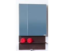 Зеркальный шкаф Бриклаер Аргентина 65 (венге)