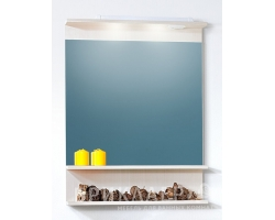 Зеркало Бриклаер Чили 70 (светлая лиственница)