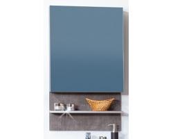 Зеркальный шкаф Бриклаер Карибы 60 (дуб антик-сатин)