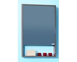 Зеркальный шкаф Бриклаер Ницца 57 (венге мали)
