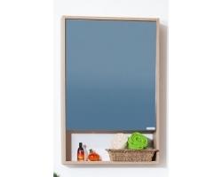 Зеркальный шкаф Бриклаер Ницца 57 (кокоболло)