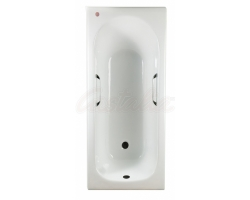 Чугунная ванна Castalia 170x70 с ручками Н0000016