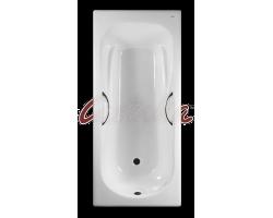 Чугунная ванна Castalia Paola 170x75 с ручками Н0000294